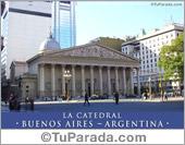 Tarjeta - La Catedral de Buenos Aires