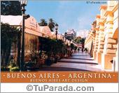 Tarjeta - Buenos Aires Art Design.
