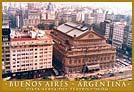 Vista aerea del Teatro Colón