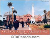 Tarjeta - Casa Rosada
