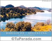 Tarjeta - Bariloche - Lago Gutierrez