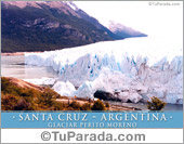 Tarjeta - Glaciar Perito Moreno