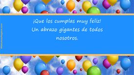 Tarjetas postales: Cumpleaños