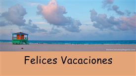 Tarjetas postales: Felices Vacaciones