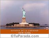 Tarjetas postales: Foto de la Estatua de la Libertad - New York