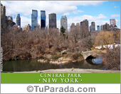 Tarjetas postales: Foto del Central Park - New York