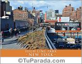 Tarjetas postales: Foto de High Line Park - New York