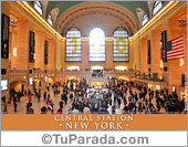 Tarjeta - Foto de Central Station - New York