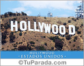 Tarjetas postales: Foto de Hollywood - Estados Unidos