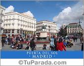 Tarjetas postales: Puerta del Sol - Madrid