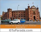 Tarjetas postales: Plaza de Toros de las Ventas - Madrid