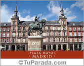 Tarjetas postales: Foto de Madrid - Plaza Mayor