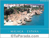 Tarjetas postales: Málaga