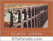Tarjetas postales: Segovia