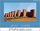 Tarjetas postales: Avila