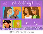 Tarjeta - Tarjeta para el día del amigo