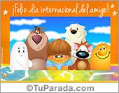 Tarjeta - Tarjeta virtual día del amigo