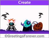Create Halloween ecard