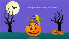 Ecards: Creepy Halloween