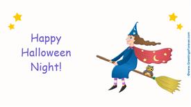 Ecards: Happy Halloween night
