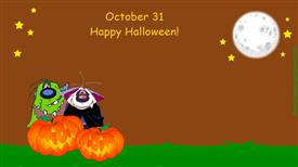 Ecards: October 31 Halloween
