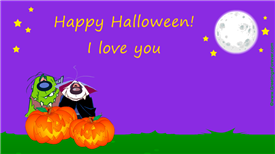 Ecards: Halloween, I love you