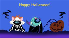 Ecards: Halloween night