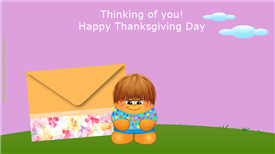 Ecards: Thanksgiving ecard
