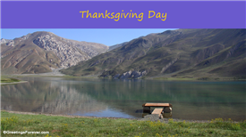 Ecards: Thanksgiving Day