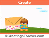 Create Thanksgiving ecard