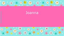 Names ecard