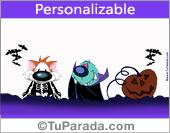 Tarjetas, postales: Halloween