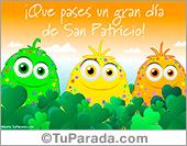 Tarjetas postales: Postal para San Patricio