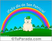 Tarjetas postales: Tarjeta de feliz día de San Patricio