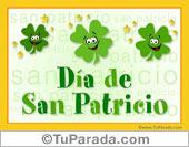 Tarjeta - San Patricio