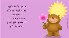 Tarjetas, postales: Acción de Gracias