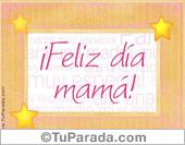 Tarjetas postales: Feliz día Mamá