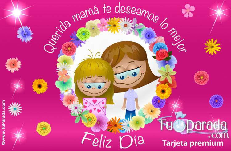 Tarjeta - Tarjeta para el día de la madre