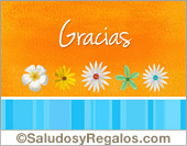 Tarjetas postales: Agradecimiento