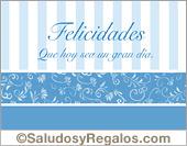 Tarjeta - Tarjeta de felicidades