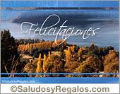 Tarjetas postales: Felicitaciones