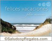 Tarjeta - Felices Vacaciones