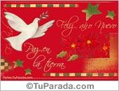 Tarjetas postales: Tarjeta de paz en la tierra