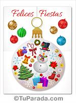 Adorno navideño festivo