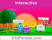 Tarjeta interactiva de saludos