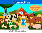 Tarjeta interactiva desde el campo