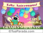 Chizu - Greeting ecards: Grandes surpresas