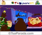 Cartões postais: Com mouse coloque as imagens no lugar certo. Ao terminar verá a mensagem.