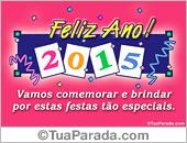 Cartões postais: Cartão de Feliz Ano