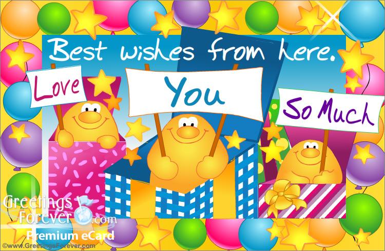 Love You So Much Happy Birthday Ecards